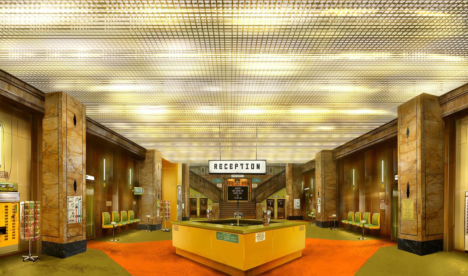 Ulrich zeidler designer agd the grand budapest hotel for Design apartment 2 budapest
